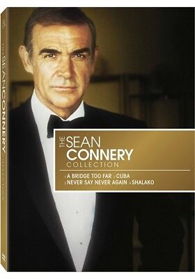 The Sean Connery Star Collection (DVD, 2009, 4-Disc Set)