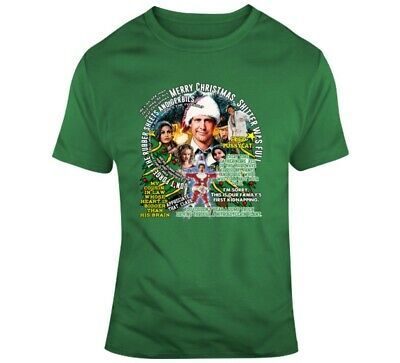 Clark Griswold Vacation Christmas Quotes Funny Parody Fan T Shirt