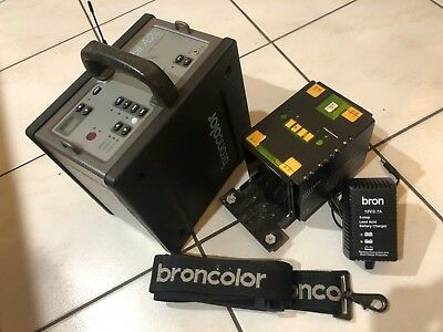 Broncolor Mobil A2L Power Pack with New Lead Acid Battery & Charger