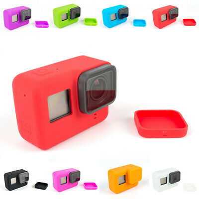 For GoPro Accessories Hero7 Silicone-Case Skin For Hero7 6 5 Camera W/ Lens Caps