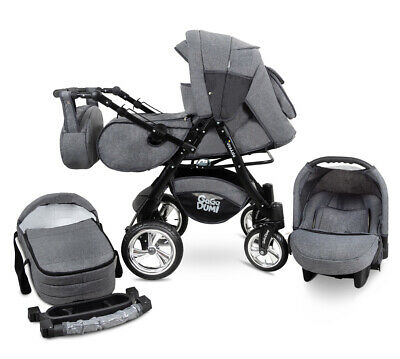 Urbano Pram Puschair Stroller 3in1 Travel system CAR SEAT included 20% OFF
