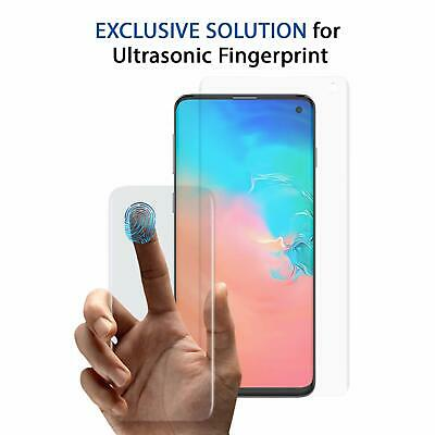 Ultrasonic Fingerprint Glass Screen Protector For Galaxy S10e / S10/ S10 Plus