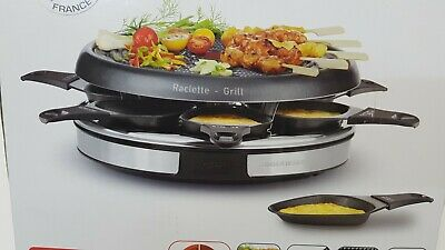 Tefal RE1278 Cristal 8 Gourmet Raclette & Grill  (2947)