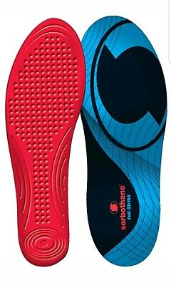 Sorbothane FULL STRIKE Insoles Shock Stopper-100% Impact Protection, Size 7
