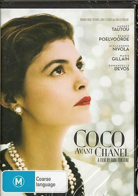 Coco Avant Chanel - Audrey Tautou New & Sealed Region 4 Dvd Free Local Post