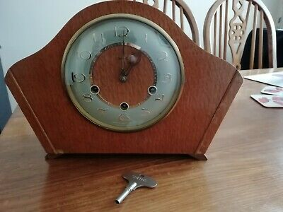 Vintage smiths 8 day Westminster Chime Mantle clock
