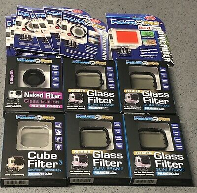 14 X Polar Pro Filters for GoPro Hero 3 - Wholesale Bulk Lot