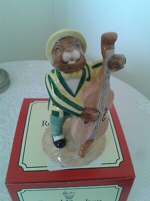 """Royal Doulton """"Double Bass Player"""" Bunnykins DB 185 Limited Edition"""