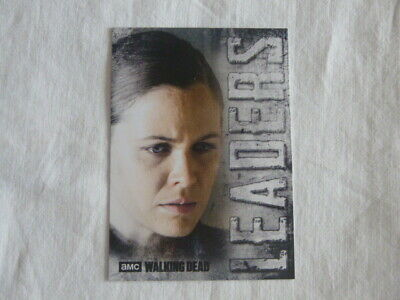 Walking Dead Hunters & The Hunted Leaders Chase Card L-2 Dawn Lerner