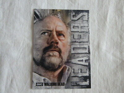 Walking Dead Hunters & The Hunted Leaders Chase Card L-5 Gregory