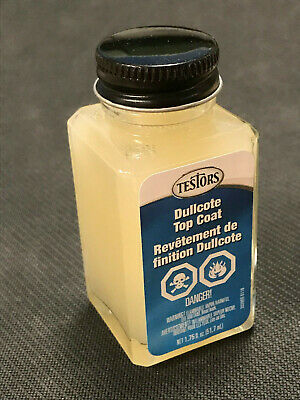 TESTORS GLOSSCOTE CLEAR Lacquer Spray Paint Can 3 oz  1261