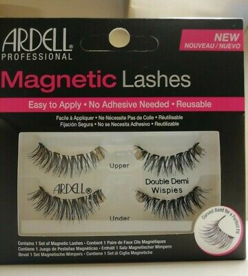 51799f1a3b0 Ardell Magnetic False Eye Lashes, No Adhesive, Reusable - Double Demi  Wispies