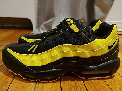 0c0e46f53697 Nike Air Max 95 Frequency Pack Tour Men s Size 13 Shoes Black Yellow  AV7939-001