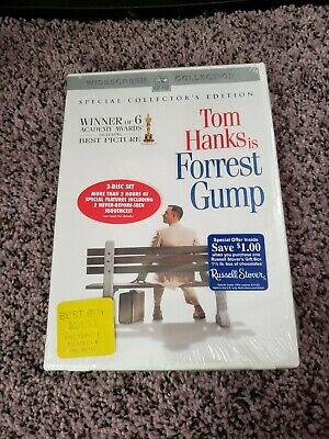 NEW Forrest Gump Special Collector's Edition DVD Tom Hanks