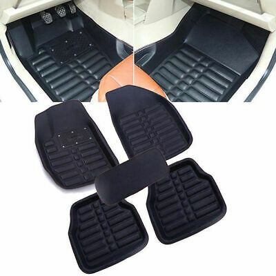 5pcs Universal Car Auto Floor Mats FloorLiner Front&Rear Carpet All Weather New