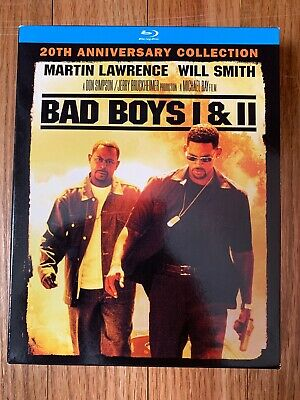 Bad Boys Bad Boys II Blu-ray Collection Will Smith Martin Lawrence Action