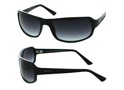 da2beae95e8d Kenneth Cole Reaction Unisex Sunglasses Black Frames Smoke Lenses KC2344