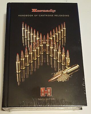 99240 Hornady Reloading Manual 10Th Edition - Brand New - Free Shipping