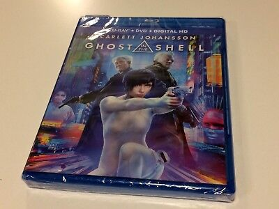 NEW Ghost in the Shell [New Blu-ray] With DVD, DIGITAL HD Digitally Mastered Hd
