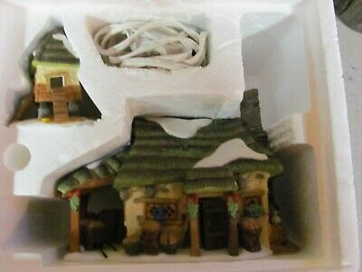 Department 56 Dickens' Village Series McShane Cottage SET OF 2