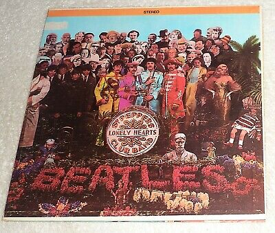 """VINYL LP byTHE BEATLES """"SGT. PEPPERS LONELY HEARTS CLUB BAND"""" / SMAS-2653 (1967)"""