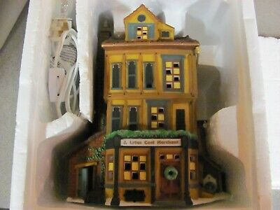 Dept 56 Heritage Dickens Village J .LYTES COAL MERCHANT Retired In Orig Box