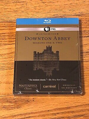Masterpiece Classic: Downton Abbey - Seasons One & Two (Blu-ray) New!