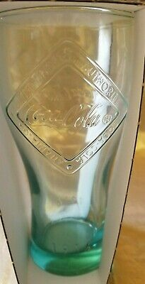 Collectable Mcdonalds Coca-Cola 1916 Limited Edition Green Drinking Glass