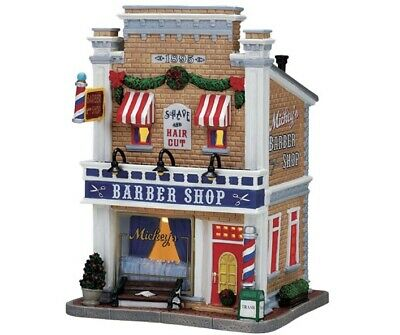 Lemax Mickey's Barber Shop 75503