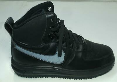 los angeles ca8c5 b5a5e Nike Lunar Force 1 Sneakerboot Black (GS) 706803 002 Youth Kids 87 React  Size
