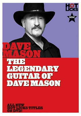 The Legendary Guitar Of Dave Mason Hot Licks Dvd Learn 2 Play Electric Tuitional