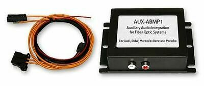 Crux AUX-ABMP1 Auxiliary Audio Input Interface for Fiber Optic Systems Bmw