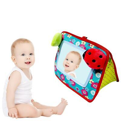 Baby Hand Bell Pushchair Toys Infant Crib Hanging Stroller Cot Cognitive Mirror