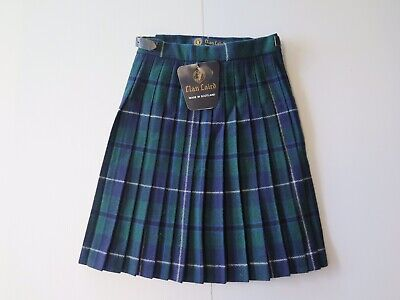 "New Childs Clan Laird ""Green Douglas"" Tartan Kilt For 6 Year Old"