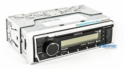 Kenwood KMR-M325BT MP3/USB Marine Digital Media Audio Player Bluetooth SiriusXM