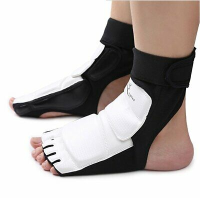 KARATE Shin Foot Sparring guard Leg Protector KARATE GI 2color 4size Japan F//S