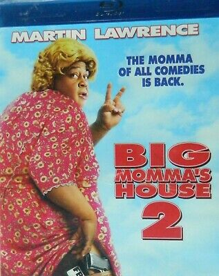BIG MOMMA's HOUSE 2(2006) Blu-ray Martin Lawrence Nia Long Emily Proctor SEALED