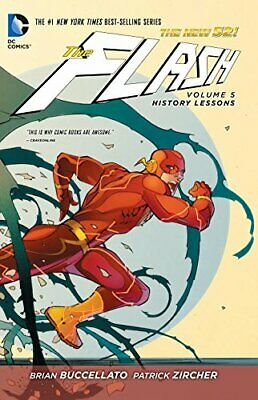 The Flash Volume 5: History Lessons HC (The New 52) by Buccellato, Brian Book