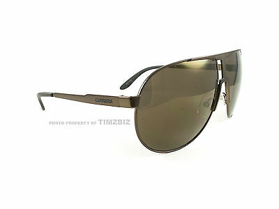 01473f053b CARRERA SUNGLASSES NEW Panamerika OWOLC Light Brown Authentic ...