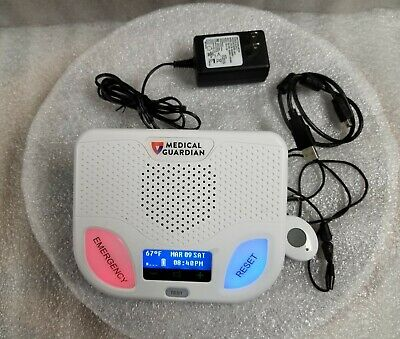 Medical Guardian - Home Guardian Medical Alert System - white