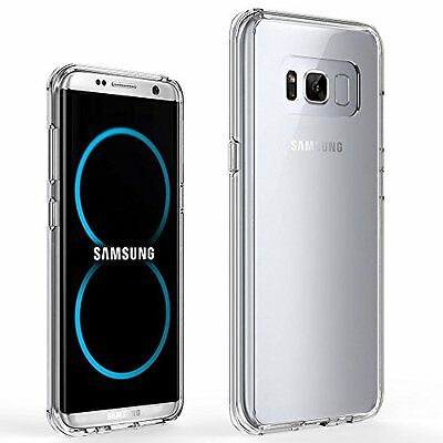 For Samsung Galaxy S8 Plus Case Silicone Gel Ultra Slim Clear Transparent Cover