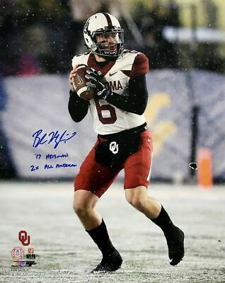 3b607a484e5 Baker Mayfield 8x10 Signed Autographed Cleveland BROWNS Oklahoma Sooners  REPRINT