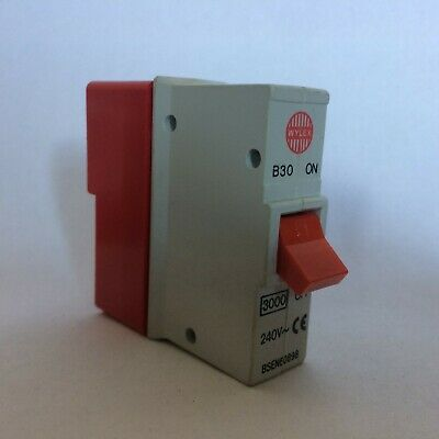Wylex Plug in Breaker B Type 6A