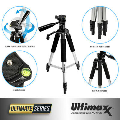 """Professional 57"""" Inch Portable Camera Tripod Stand for All DSLRs Camcorders"""
