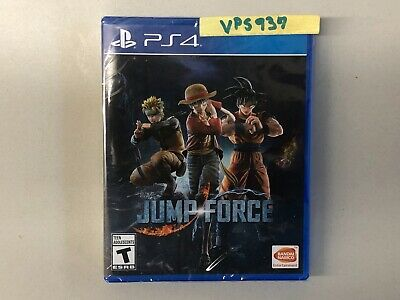 Jump Force (Sony PlayStation 4, PS4, 2019) BRAND NEW FACTORY SEALED!!!!!!!!!!!!!