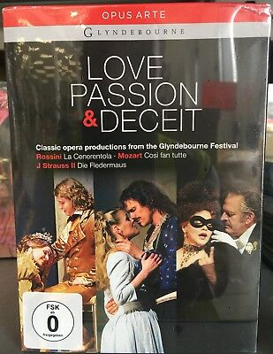 Love Passion And Deceit (Glyndebourne Box Set) DVD Box