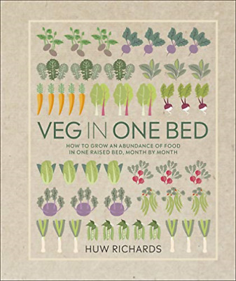 Huw Richards-Veg In One Bed BOOKH NEW