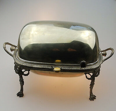 2.Antique Silver Plate  An extremely rare Breakfast Dish C.late 19th/early 20thC