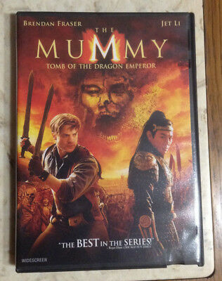 The Mummy .. Tomb of the Dragon Emperor .. DVD