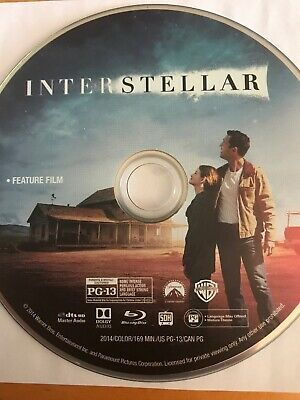 Disc Only - Interstellar - Blu Ray